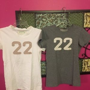 Two Poof 22 T-shirts